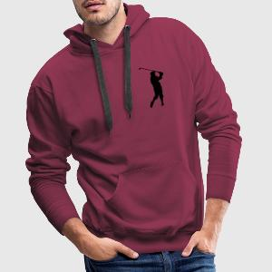golf Polo Shirts - Men's Premium Hoodie