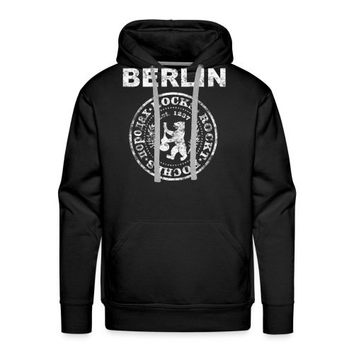 Berlin Rockt Vintage  Männer Shirt - Männer Premium Hoodie