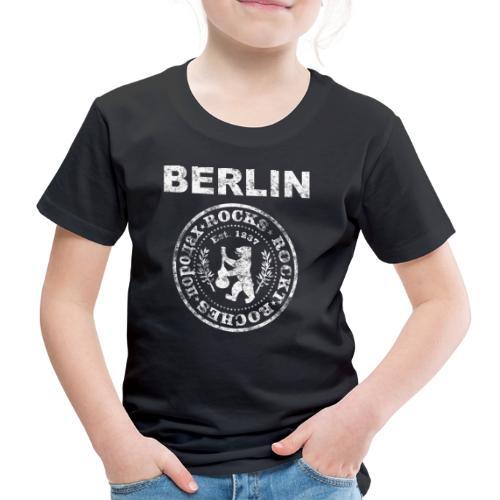 Berlin Rockt Vintage  Männer Shirt - Kinder Premium T-Shirt