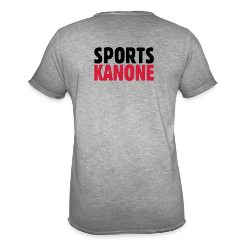 Sportskanone T-Shirt - Männer Vintage T-Shirt