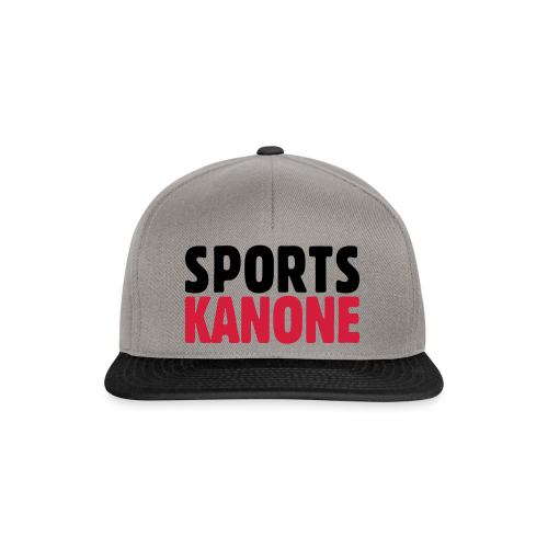 Sportskanone T-Shirt - Snapback Cap