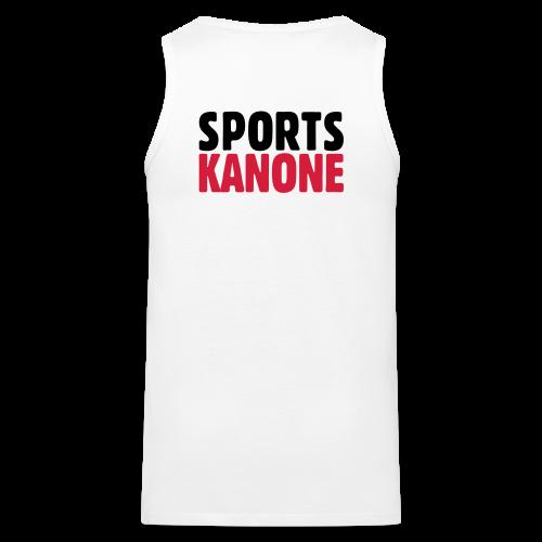 Sportskanone T-Shirt - Männer Premium Tank Top