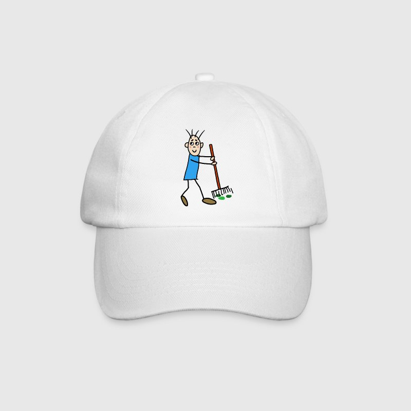Stick figure / TRAINEE Caps & Hats - Baseball Cap
