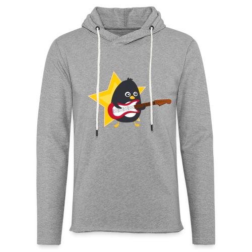 Pingouin Bassiste - Sweat-shirt à capuche léger unisexe
