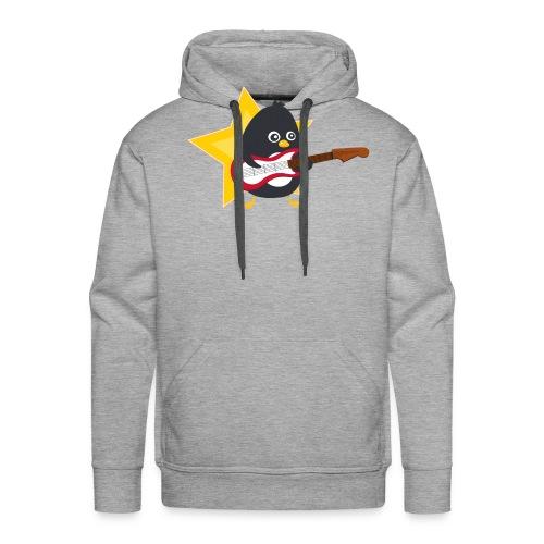 Pingouin Bassiste - Sweat-shirt à capuche Premium pour hommes