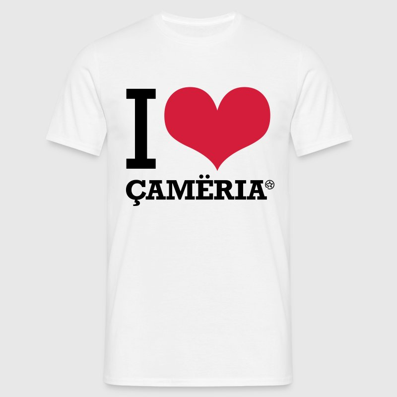 I LOVE CAMERIA T-Shirts - Men's T-Shirt
