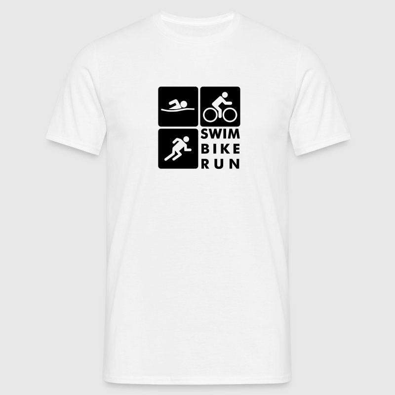 Swim Bike Run Triathlon - Camiseta hombre