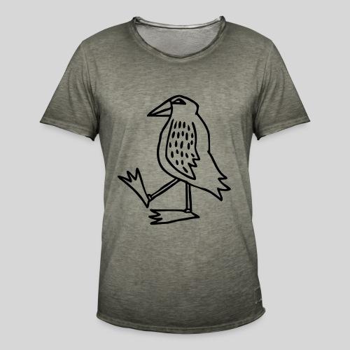 Vogel - Männer Vintage T-Shirt