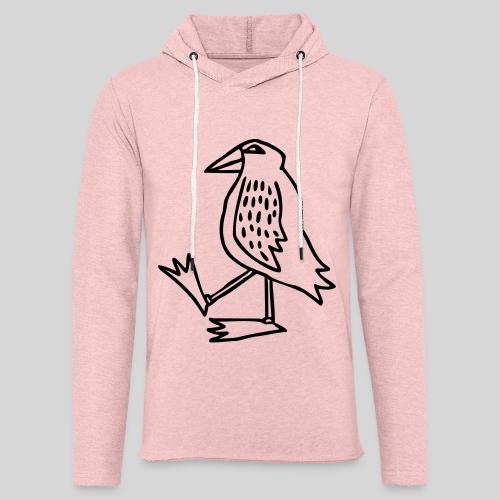Vogel - Leichtes Kapuzensweatshirt Unisex