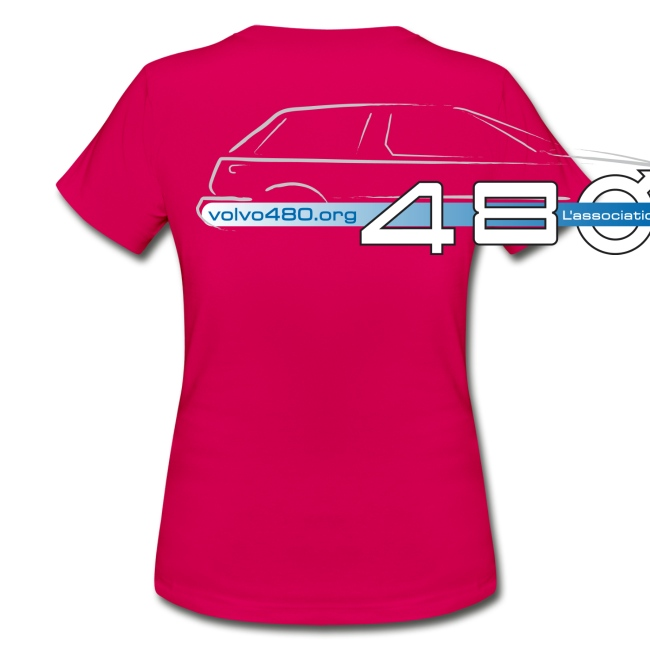 T-shirt classique femme recto-verso - Logo association