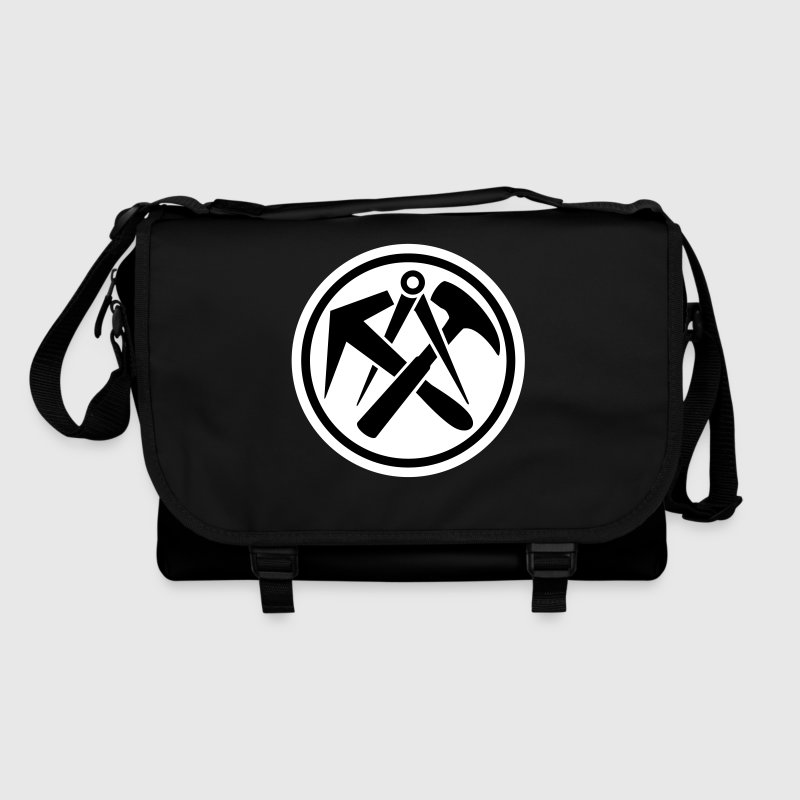 Roofer Logo Emblem characters guild emblem Bags  - Shoulder Bag