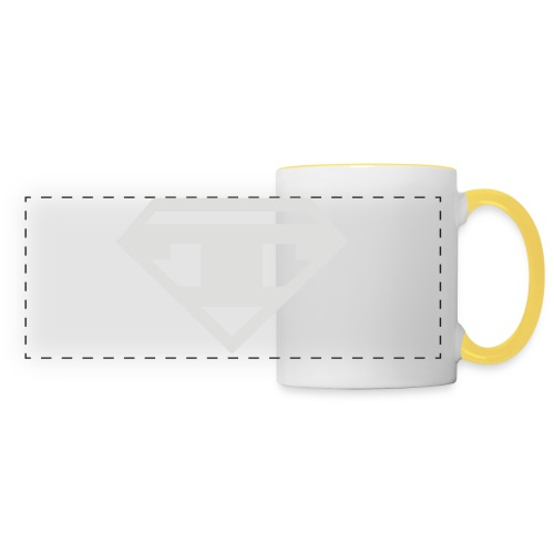 Baseball - Black T - Panoramic Mug