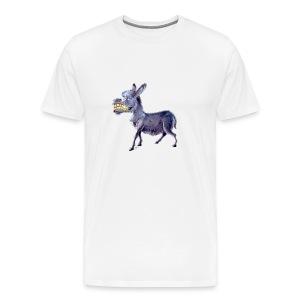 Esel - Donkey - Männer Premium T-Shirt