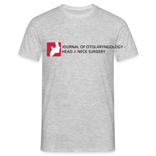 Journal of Otolaryngology-Head & Neck Surgery Mens T-shirt