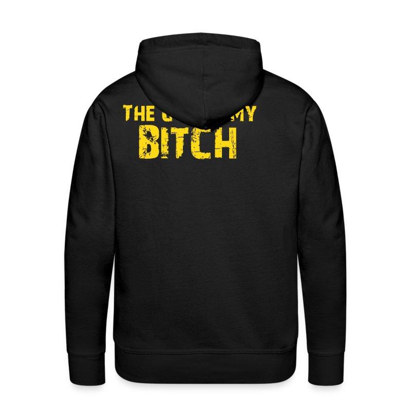 The Gym Is My Bitch (Vektor) - Männer Premium Hoodie