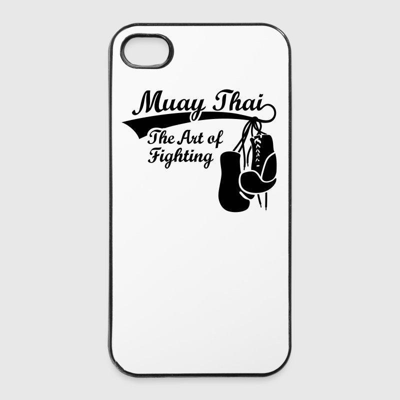 Muay Thai - The Art of Fighting Thaiboxen Sonstige - iPhone 4/4s Hard Case