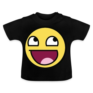 Awesome Smiley Emoticon Meme Boy T-Shirt - Baby T-Shirt