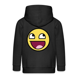 Awesome Smiley Emoticon Meme Boy T-Shirt - Kinder Premium Kapuzenjacke