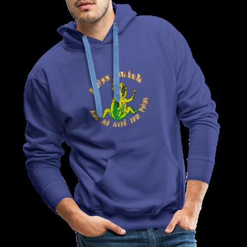 Froschkoenig Tasche - Männer Premium Hoodie