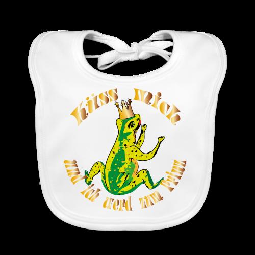 Froschkoenig Tasche - Baby Bio-Lätzchen