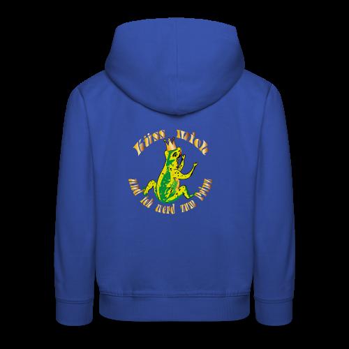 Froschkoenig Tasche - Kinder Premium Hoodie