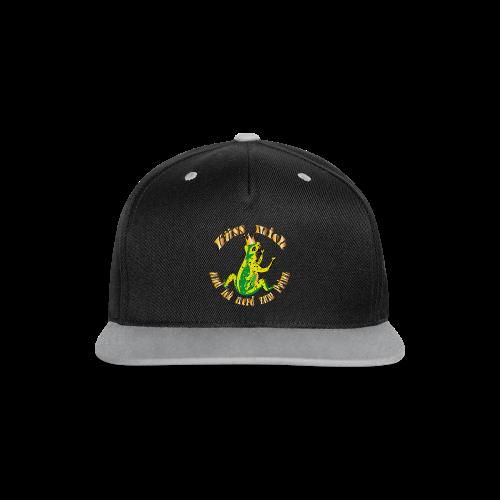 Froschkoenig Tasche - Kontrast Snapback Cap