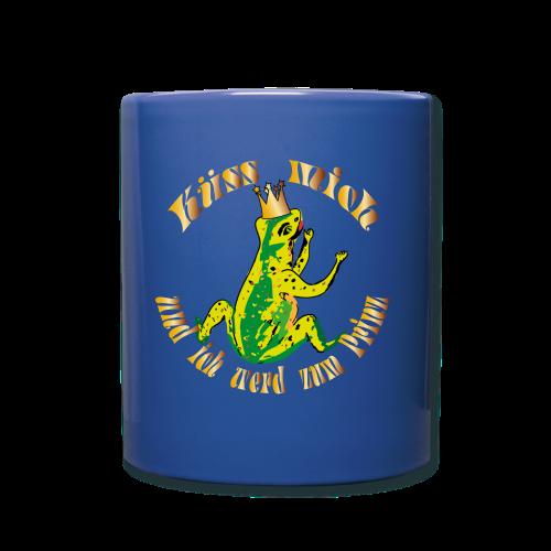 Froschkoenig Tasche - Tasse einfarbig
