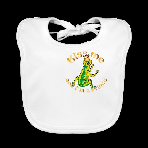 Frog King Shirt - Baby Bio-Lätzchen