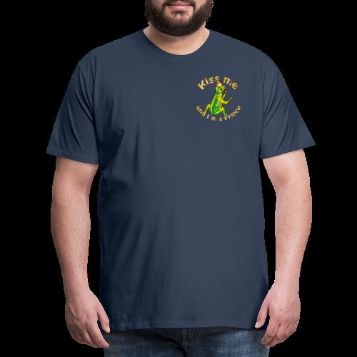 Frog King Shirt - Männer Premium T-Shirt
