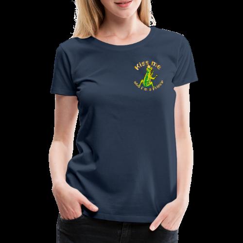 Frog King Shirt - Frauen Premium T-Shirt