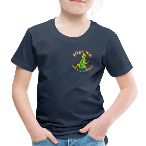 Frog King Shirt - Kinder Premium T-Shirt