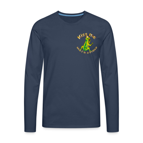 Frog King Shirt - Männer Premium Langarmshirt
