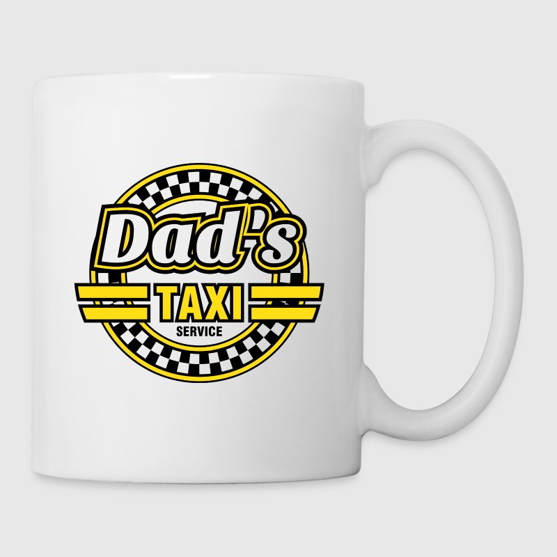 Dad's Taxi Service Bottles & Mugs - Mug