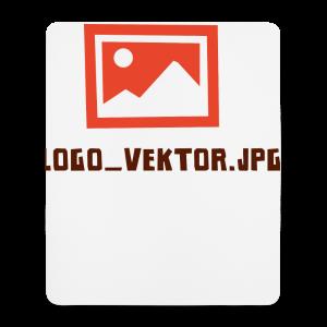 Logo_Vektor.jpg Tasse - Mousepad (Hochformat)