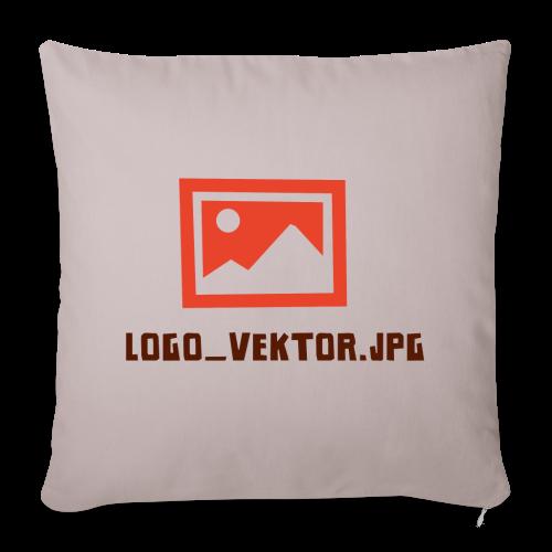 Logo_Vektor.jpg Tasse - Sofakissenbezug 44 x 44 cm