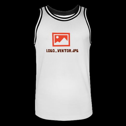 Logo_Vektor.jpg Tasse - Männer Basketball-Trikot
