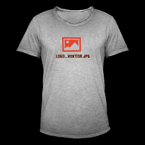 Logo_Vektor.jpg Tasse - Männer Vintage T-Shirt