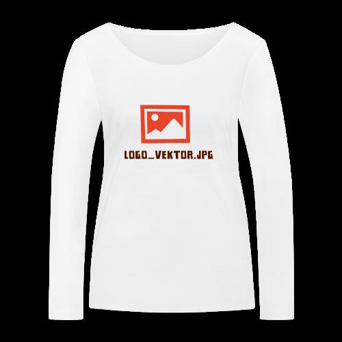 Logo_Vektor.jpg Tasse - Frauen Bio-Langarmshirt von Stanley & Stella
