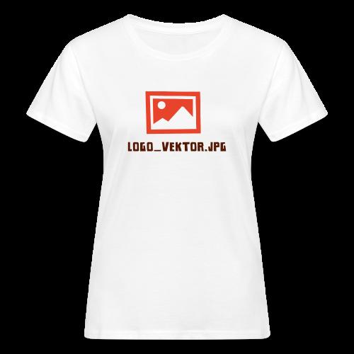 Logo_Vektor.jpg Tasse - Frauen Bio-T-Shirt