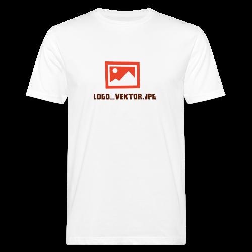 Logo_Vektor.jpg Tasse - Männer Bio-T-Shirt