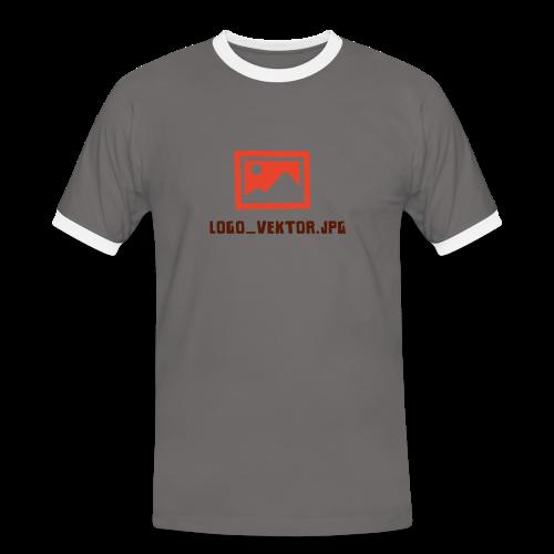 Logo_Vektor.jpg Tasse - Männer Kontrast-T-Shirt