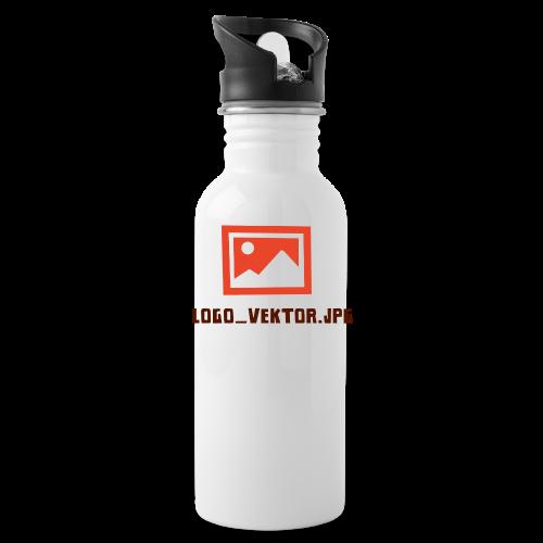 Logo_Vektor.jpg Tasse - Trinkflasche