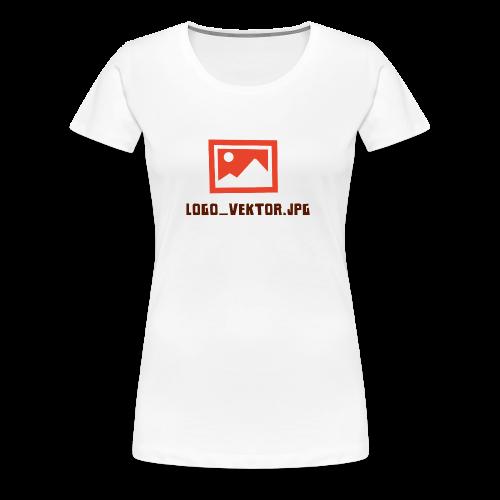 Logo_Vektor.jpg Tasse - Frauen Premium T-Shirt