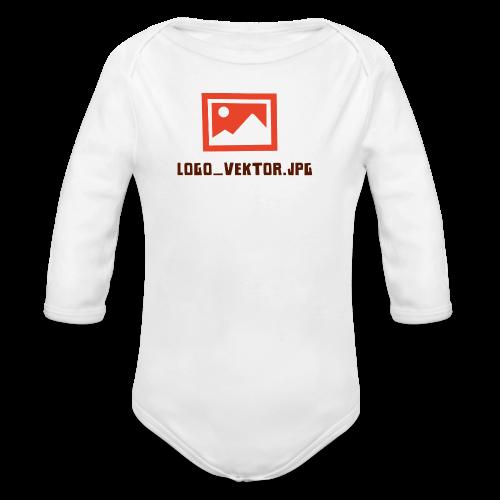 Logo_Vektor.jpg Tasse - Baby Bio-Langarm-Body