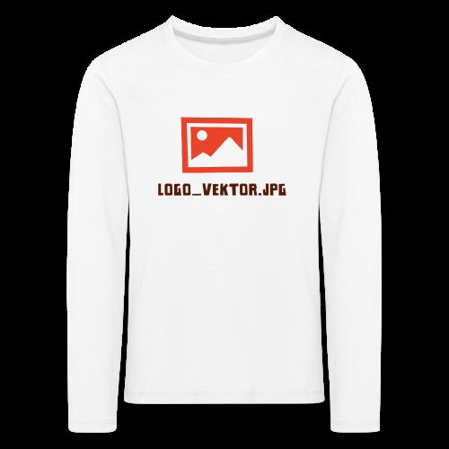 Logo_Vektor.jpg Tasse - Kinder Premium Langarmshirt