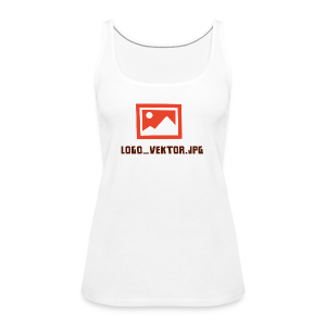 Logo_Vektor.jpg Tasse - Frauen Premium Tank Top