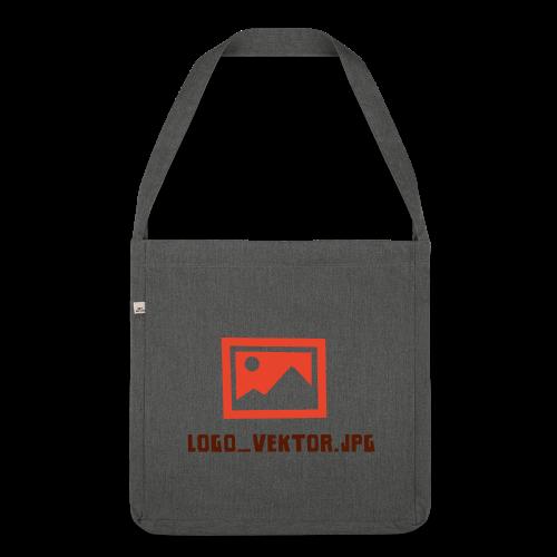 Logo_Vektor.jpg Tasse - Schultertasche aus Recycling-Material
