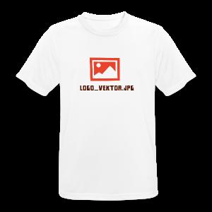Logo_Vektor.jpg Tasse - Männer T-Shirt atmungsaktiv