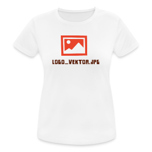 Logo_Vektor.jpg Tasse - Frauen T-Shirt atmungsaktiv