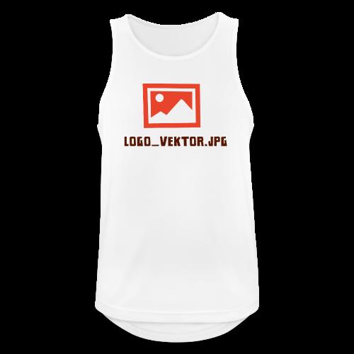Logo_Vektor.jpg Tasse - Männer Tank Top atmungsaktiv